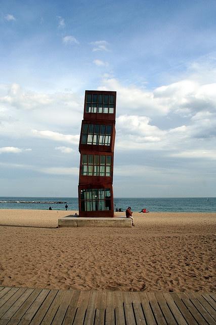 Barcelona beach (c) Salla Ikonen