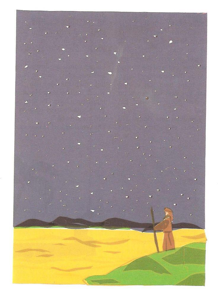 Abraham helpt Lot, tel de sterren