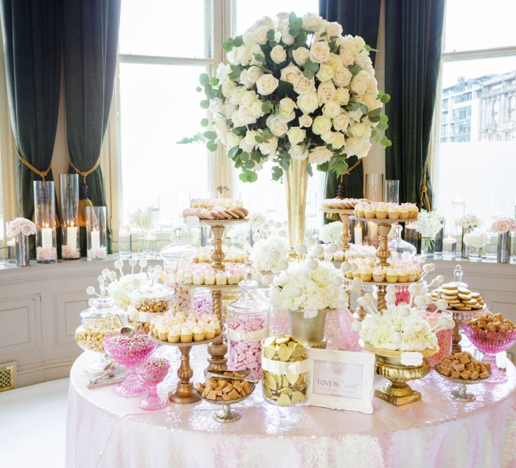 Dessert Table At Wedding Reception: 1288 Best Images About Food Stations On Pinterest