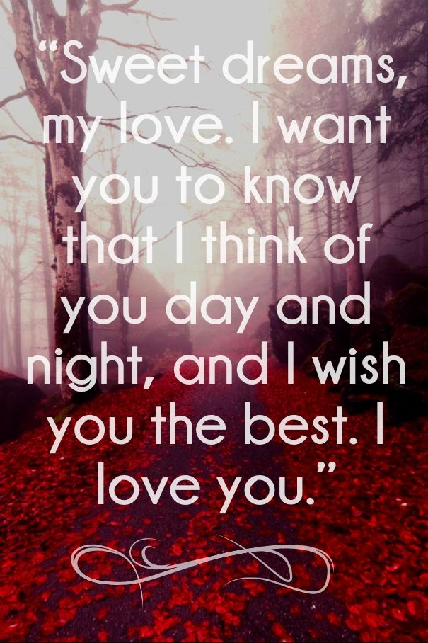 Dream Love Quotes For Him: 50 Best Good Night Images On Pinterest