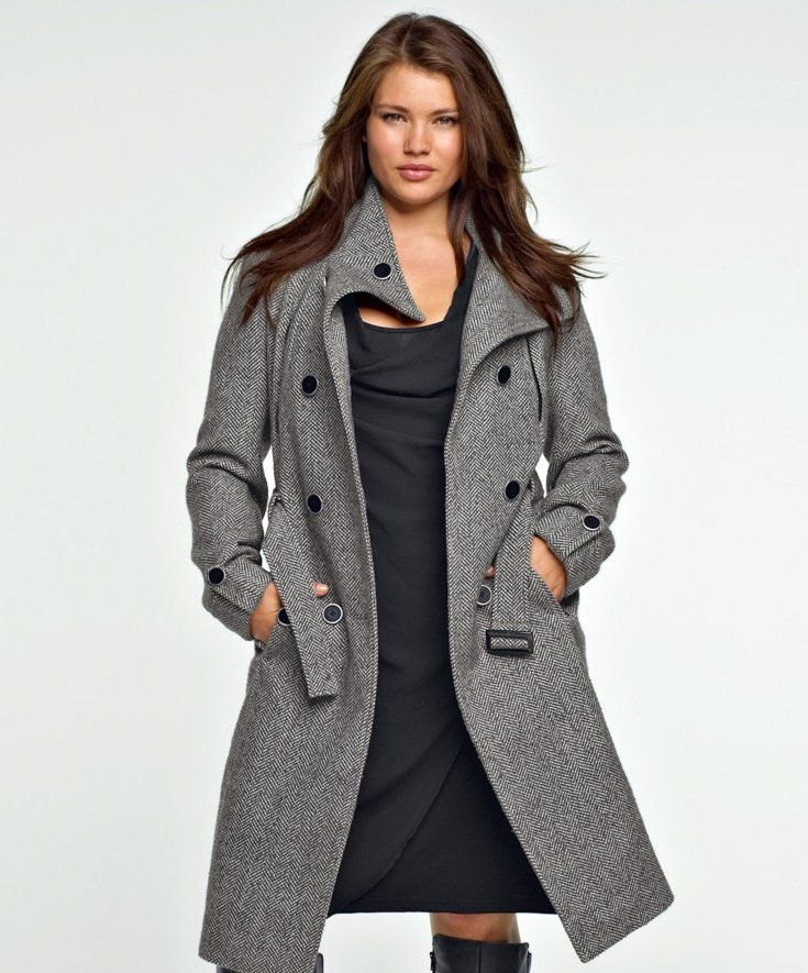 132 best Big Girls: Outerwear images on Pinterest | Curvy fashion ...
