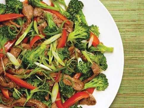Teriyaki Beef & Broccoli