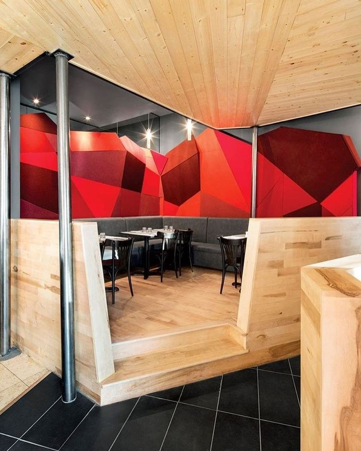 Chez Carl Tapas BBQ By Jean De Lessard Designers Cratifs From Our Roundup Of Fast Casual Restaurants That Put Design On The Menu