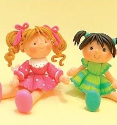 Cute little girls ( step-by-step polymer clay tutorial ) // Ülő kislány figurák gyurmából lépésről-lépésre // Mindy - craft tutorial collection // #crafts #DIY #craftTutorial #tutorial #Clay #ClayTutorials #ClayCrafts #Gyurmázás