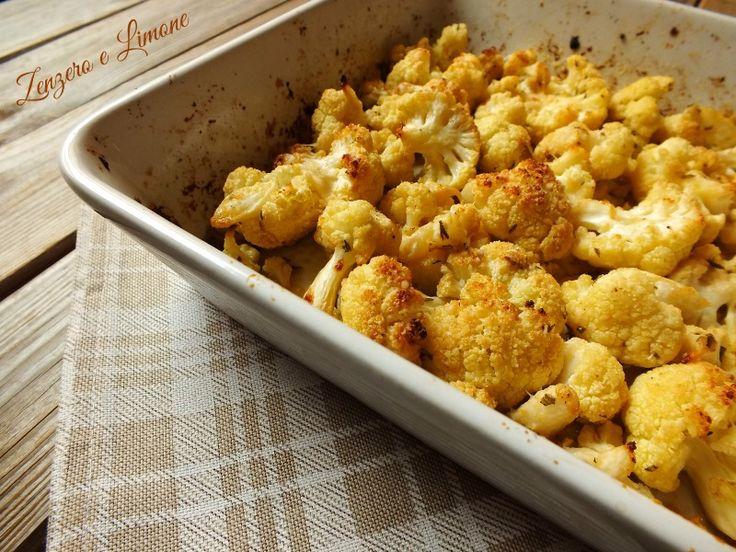 Cavolfiore+al+forno+-+ricetta+semplice