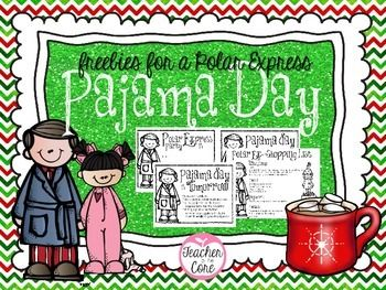 This little packet is sure to help if you do a PJ Day, watch the Polar Express, or serve Cocoa in the classroom.   Included are: Parent Letters Parent Reminders PJ Day Info Shopping Lists Donation Lists  Enjoy and please leave feedback! Katie