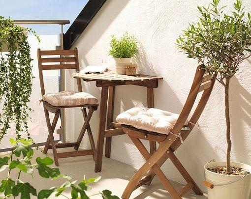 muebles abatibles para balcones pequeños