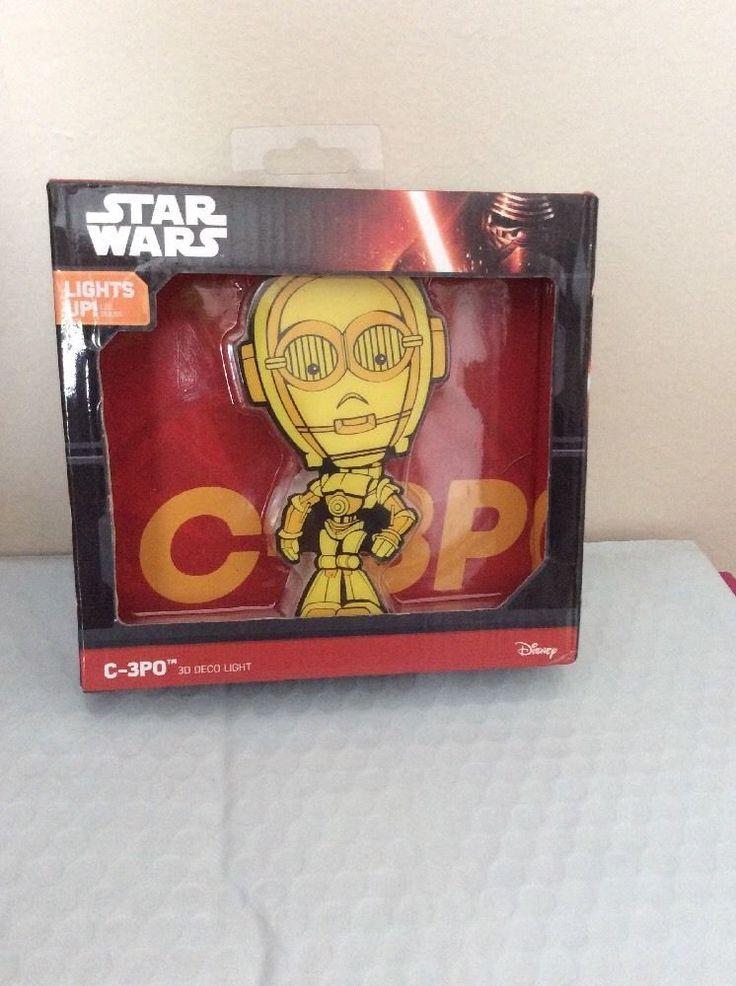 Star Wars C-3PO 3D Deco Light #FX