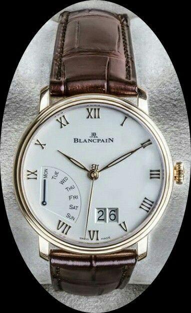 2dbc70740a2 Pin de Levi Castro em Relógios Blancpain