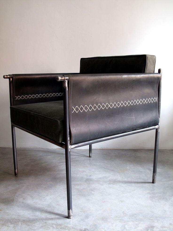 Altamura Arm Chair Waxed Cotton Fabric Furniture