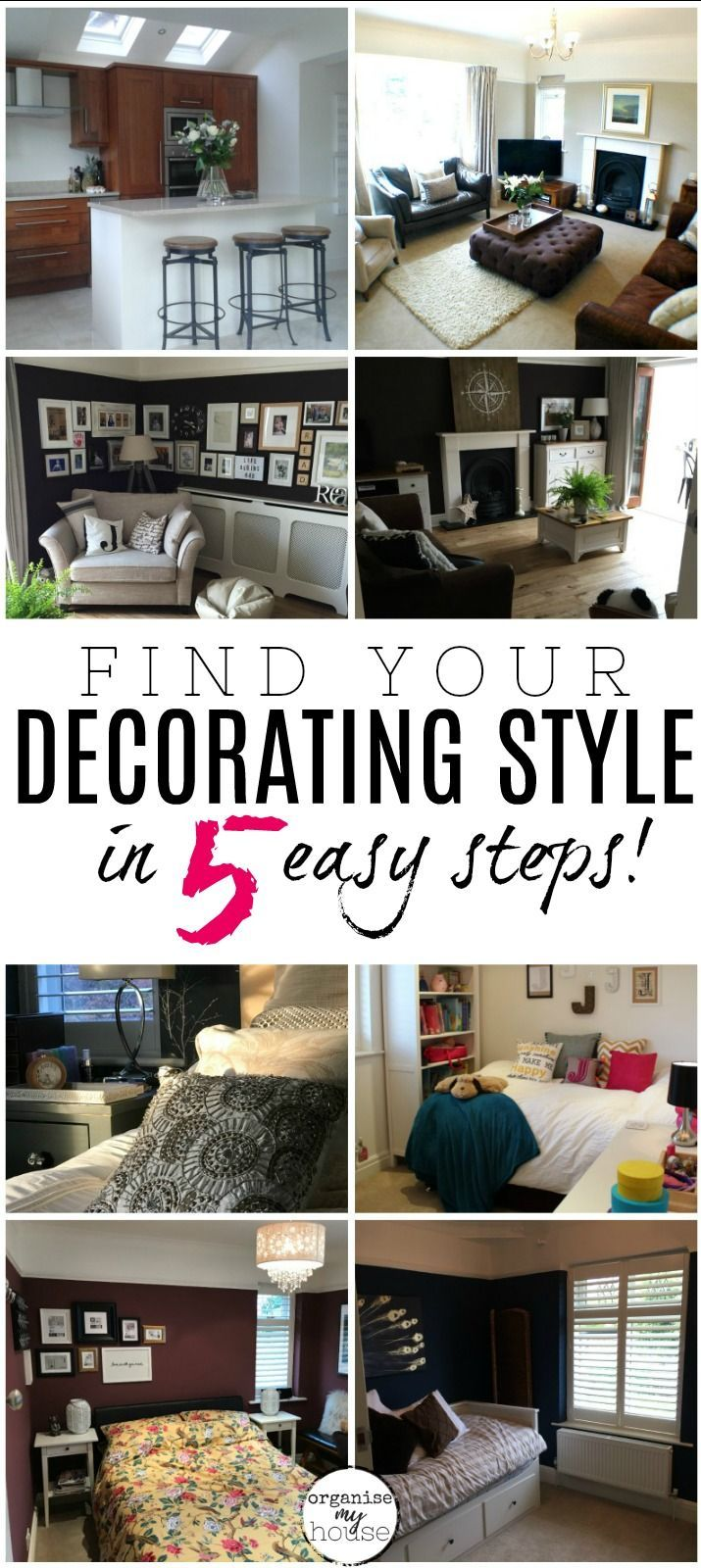 FOLLOW THESE 5 STEPS IN YOUR HOME NOW! | Decor styles, Decor ...
