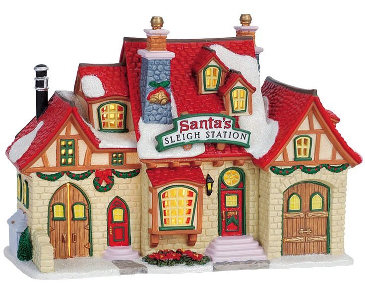 Village Houses For Christmas