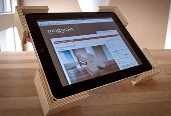 ipad-horizontal #woodIPADstand
