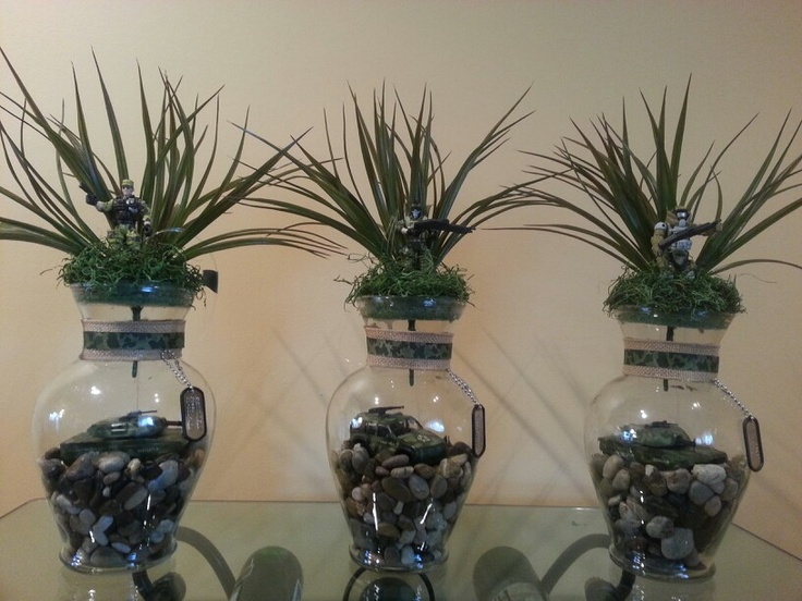 military centerpiece army pinterest military and