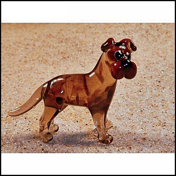 Cute Glass Super Mini Fugirune  Boxer II by GeoSpyorg on Etsy