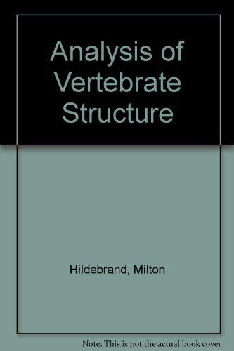 17 best books and biology images on pinterest a bugs life a analysis of vertebrate structure pages 670 milton hildebrand international edition edition fandeluxe Gallery