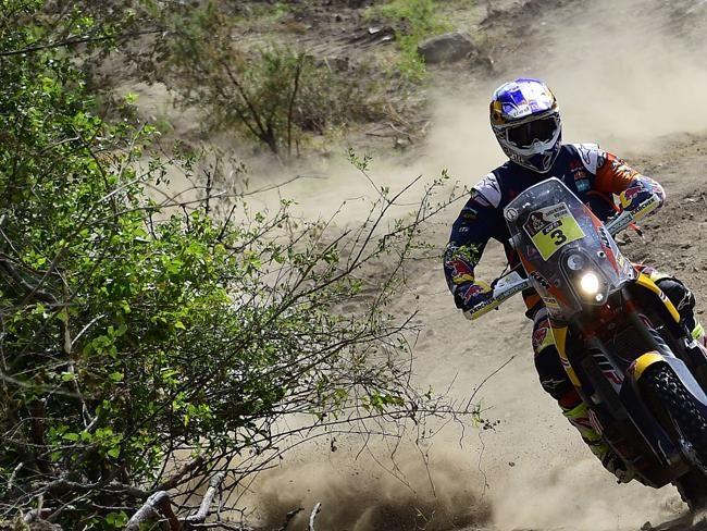 Australian Toby Price powers his KTM.