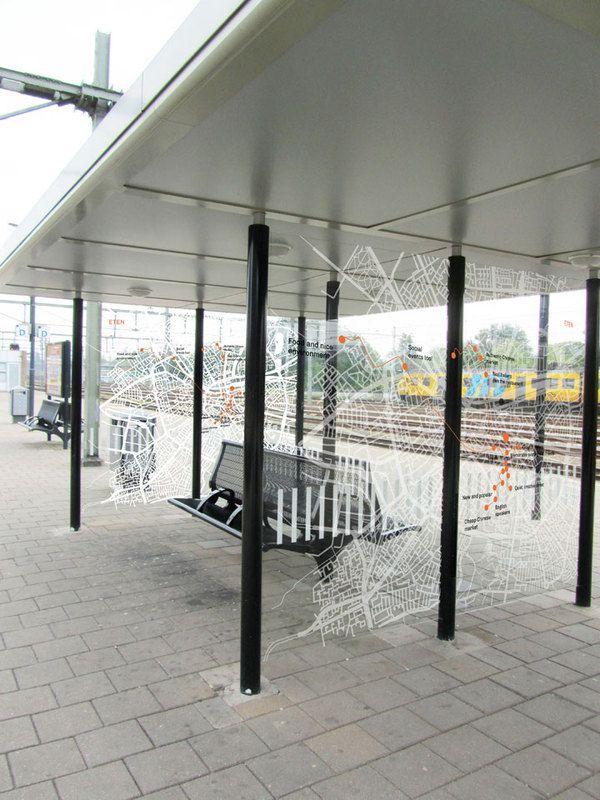 Railway station wayfinding design academy of eindhoven for Eindhoven design school