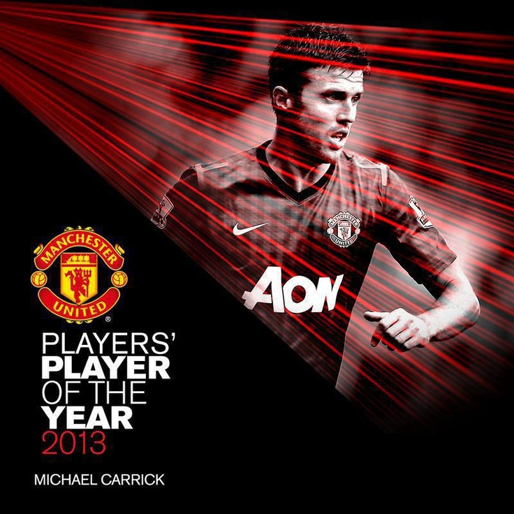 MUFC Players' Player of the Year 2013 is Michael Carrick !!
