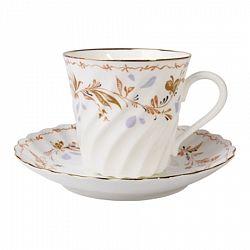Чашка с блюдцем кофейная витая Карелия_155_ml_art-_81-15723-00-1/