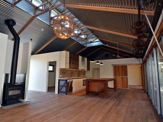Shearing shed house design house pinterest modern Australian loft house plans