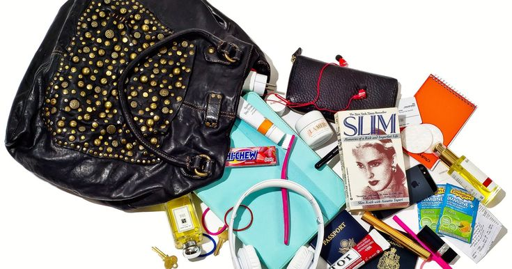 Castle star Stana Katic empties out her purse for Us Weekly