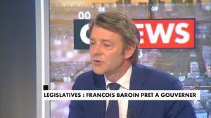 François Baroin est prêt à gouverner si la droite gagne les législatives François Baroin était l'invité de Jean-Pierre Elkabbach. Le sénateur-Maire de Troyes (LR), président de l'Association des Maires de France a déc... http://feedproxy.google.com/~r/itele/politique/~3/WbO5TRScM0Q/francois-baroin-est-pret-a-gouverner-si-la-droite-gagne-les-legislatives-de-juin-prochain-174938 Check...