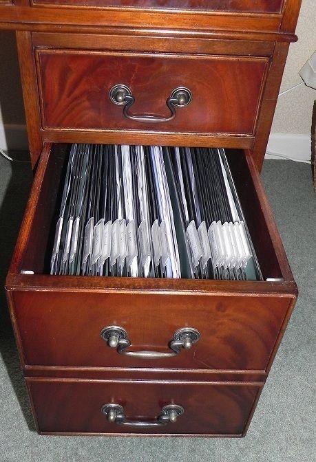 Suspension file folder rack track rails frame for wooden