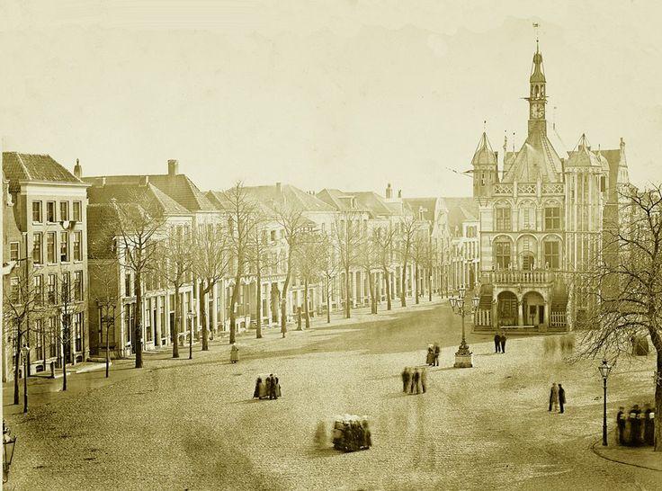 Historische foto Brink 1894.