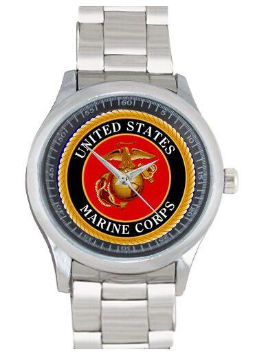 Купить товарИндивидуальные мода сша корпус морской пехоты горячая распродажа кварцевые нержавеющей стали свободного покроя женщины спорт наручные часы бесплатная доставка L99 в категории  на AliExpress.             Средний Индивидуальные часы Высокое качество.                             Эти часы более чем способ.
