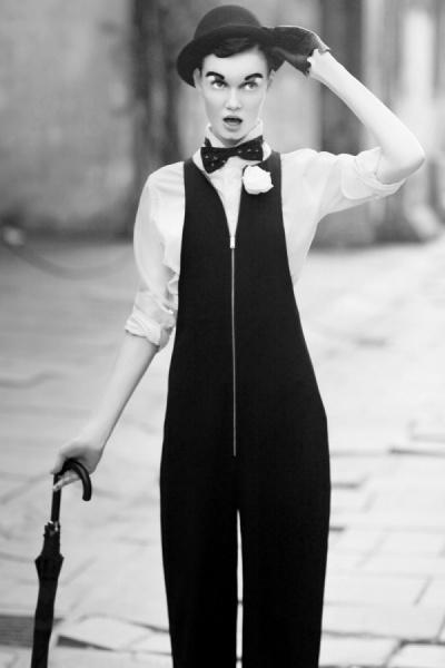 Miss Chaplin photographed by Rio Surya Prasetia