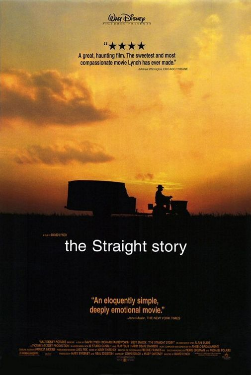 The straight story :: David Lynch, 1999 One of the BEST FILMS EVER!! It makes me cry every time and also makes me yearn for a slower, simpler life. Goddamn beautiful movie