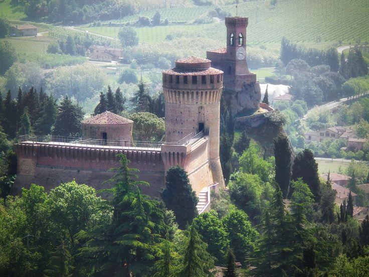 Rocca di Brisighella e Torre dell'orologio - 44°13′00″N 11°46′00″E