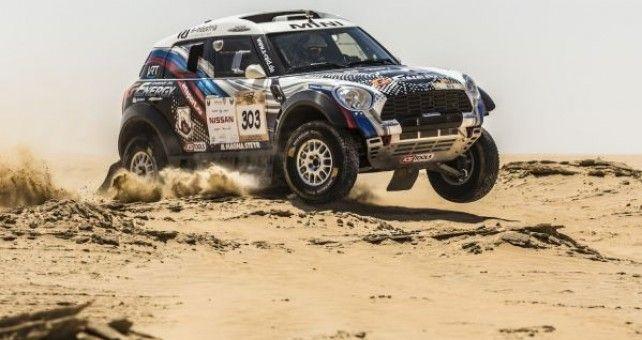 Vladimir Vasilyev y Konstantin Zhiltsov se han adjudicado la victoria en el Abu Dhabi Desert Challenge con el primero de los cuatro Mini que se han situado entre los diez primeros.