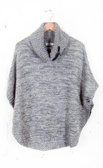 Cape Knit Sweater