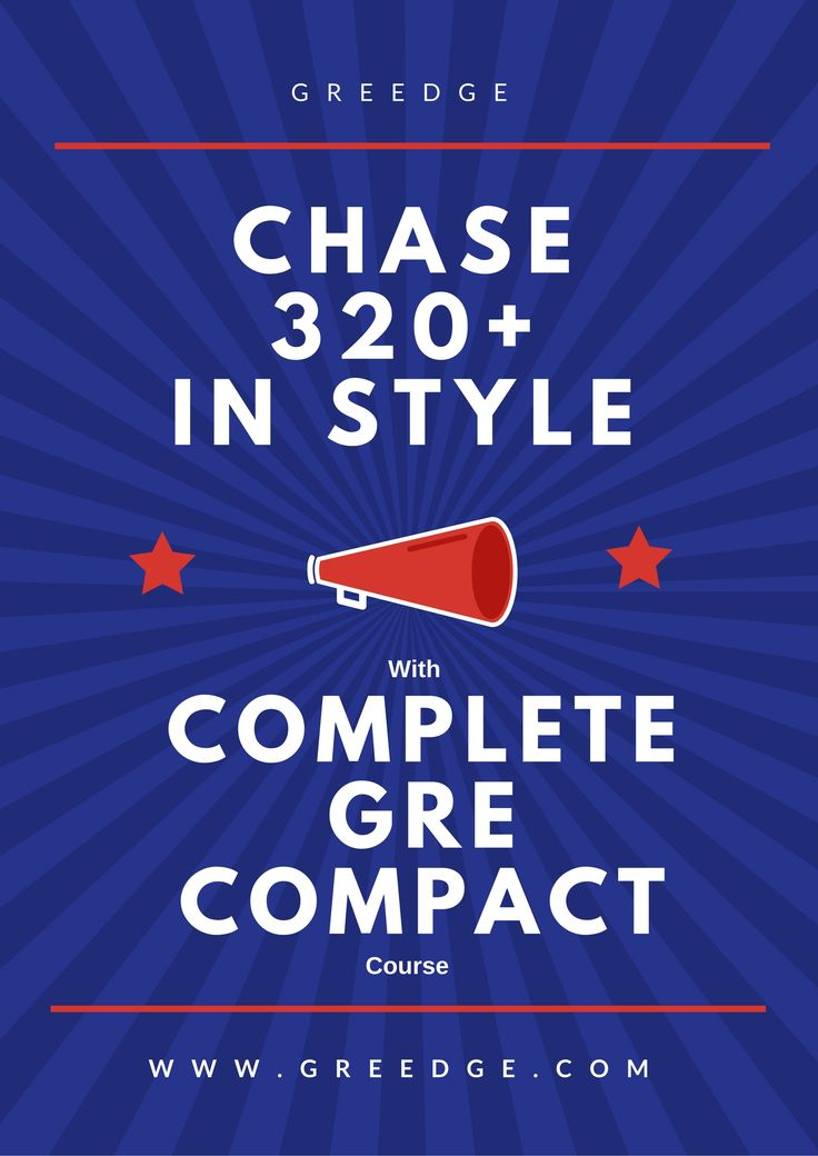 Join GREedge and get benefited with First-class GRE Book materials and Study Guide. Also get access to numerous GRE Practice Test resources. Join Complete GRE Compact Course immediately and get 40% off. To know more about GRE Prep Courses, visit: https://www.greedge.com