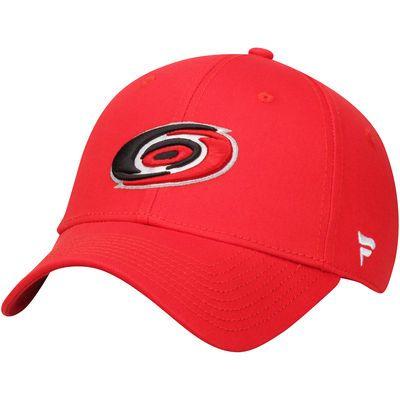 Carolina Hurricanes Youth Alpha Structured Adjustable Hat - Red