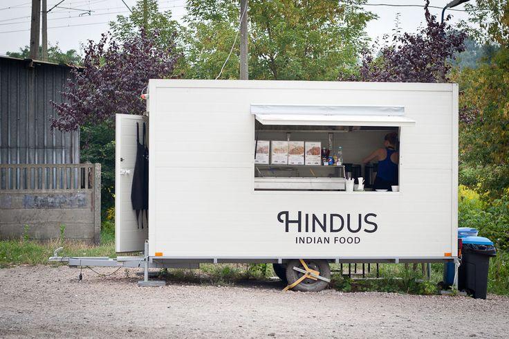 Indian food truck in Krakow, Hindus - Zabłocie, Krakow