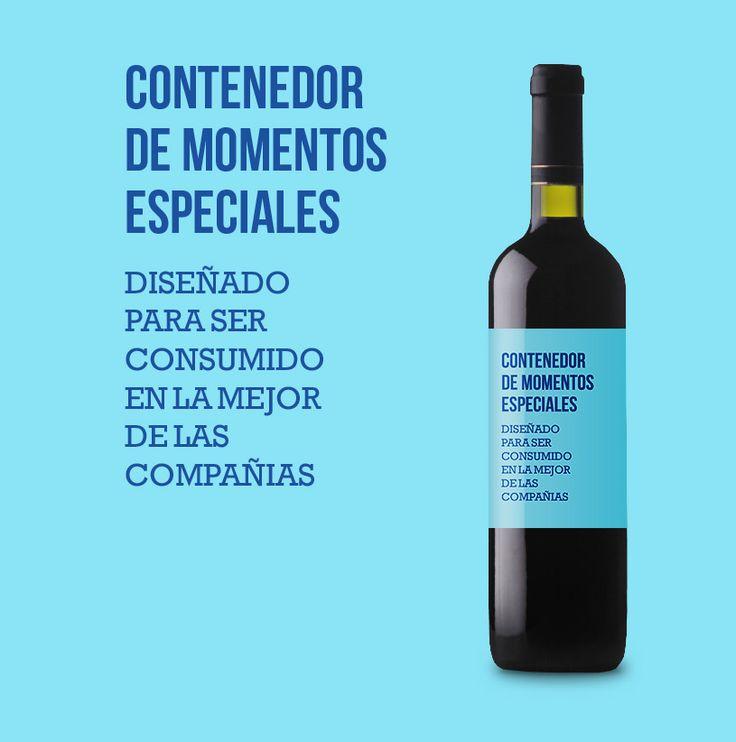 Un buen vino, gran contenedor de momentos especiales para ser compartidos con la mejor de las compañías Descubre este Ribera del Duero con mucha personalidad en la sección de regalos de etiquetatuvino.com #regalosoriginales #vinoconpersonalidad #riberadelduero #etiquetatuvino