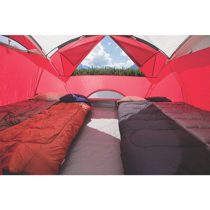 $159 on www.Coleman.com Coleman - 8 Man Tent | Big Tents for Camping | Coleman - Stockton™ 8-Person Tent