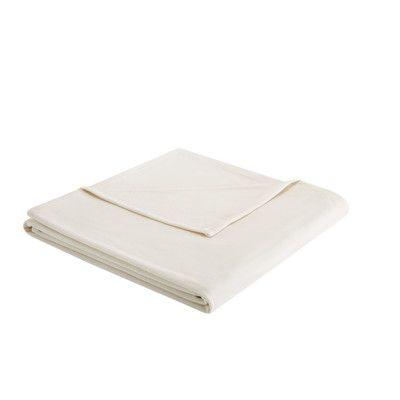 Andover Mills Steelton 3M Scotchgard Micro Fleece Blanket Size: