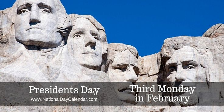 "[caption id=""attachment_346652″ align=""alignnone"" width=""490″] Mt Rushmore in South Dakota[/caption] PRESIDENTS DAY Presidents Day is a federal holiday which, in…"
