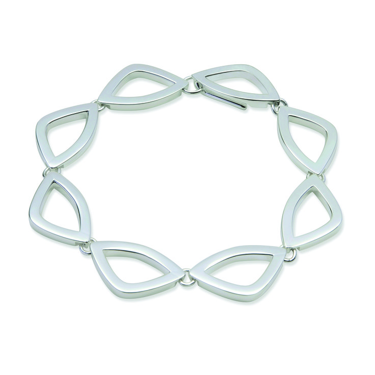 Athlantic collection - sterling silver bracelet