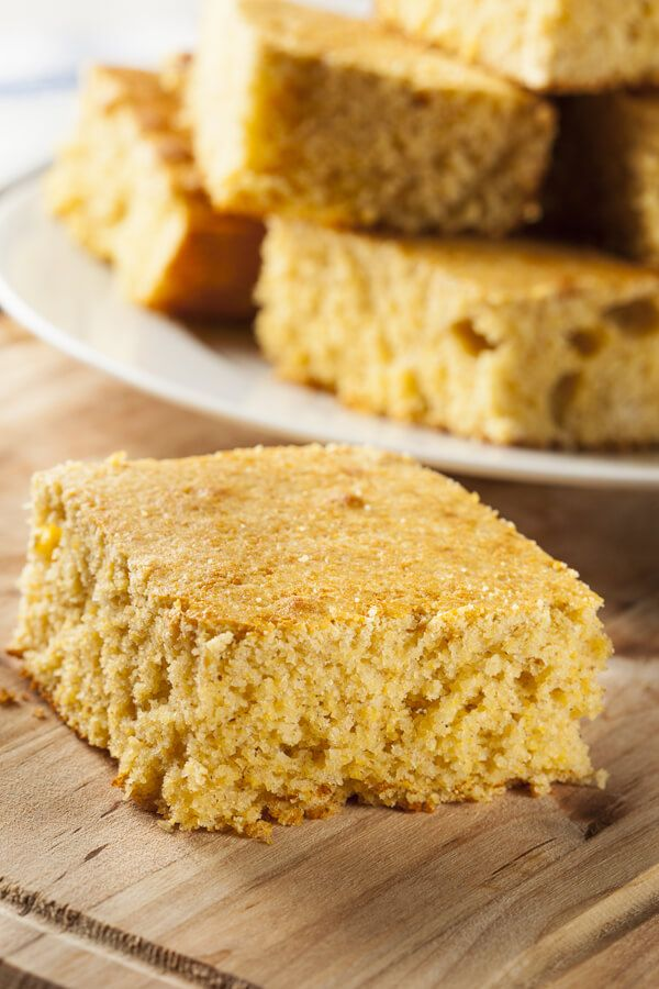 Old Fashioned Johnny Cake Recipe Cdkitchen Com In 2020 Johnny Cakes Recipe Corn Nutrition Facts Baked Dishes