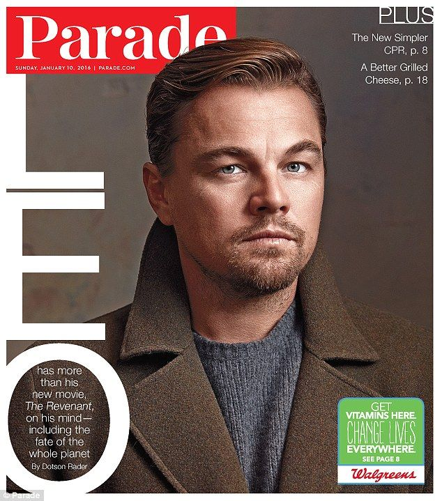 'You can't plan it. It's just going to happen when it happens' Leonardo DiCaprio opens up in the latest issue of Parade magazine about his thoughts on marriage