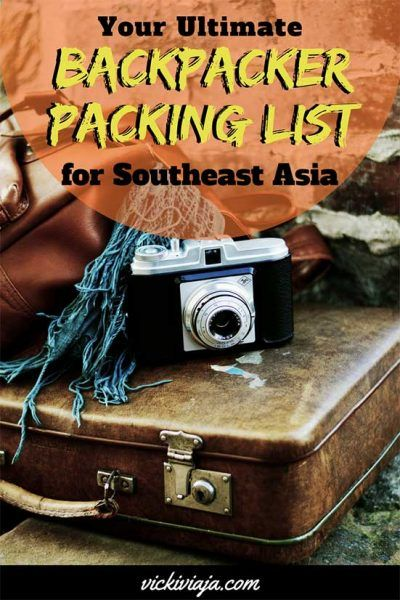 Are you planning to travel to Southeast Asia and you don t know what (not)  to pack yet  Then this is the perfect packing list for you. Your ultimate  ... 9f9fbd82e3
