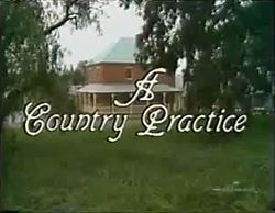 A Country Practice TV Show - Molly and Brendan - the whole of Australia watched the episode when she died!