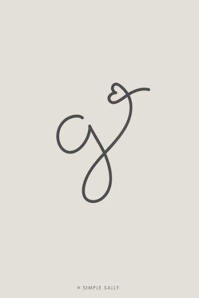... Tattoo, Letter G Tattoo, Initial