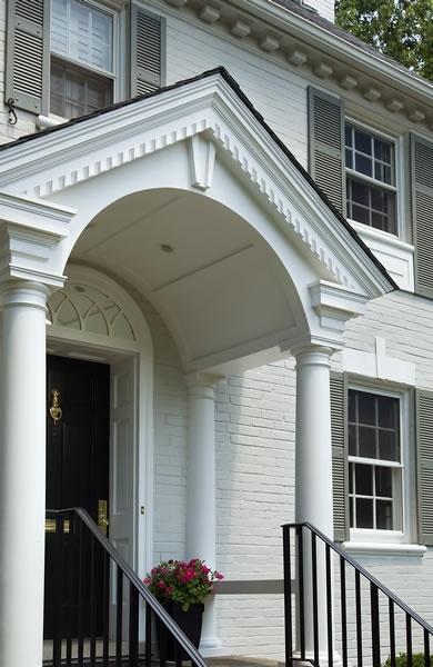 Home portico arch design