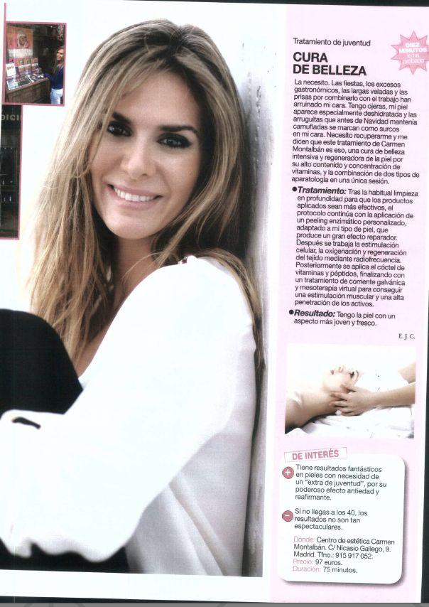 Revista Diez Minutos. Blog Myriam Yébenes. Enero 2013